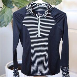 90 Degree by Reflex Striped Athletic jacket